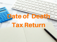 When to lodge a date of death tax return?
